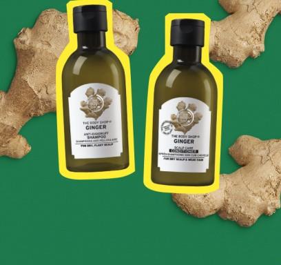Imbierų šampūnas + balzamas 400ml = -40%