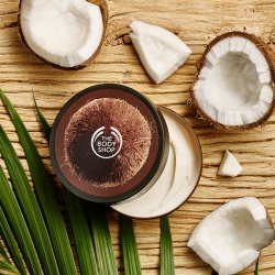Kokosų sviestinis kūno kremas