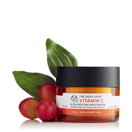 Vitamino C švytėjimo suteikiantis drėkinamasis veido kremas