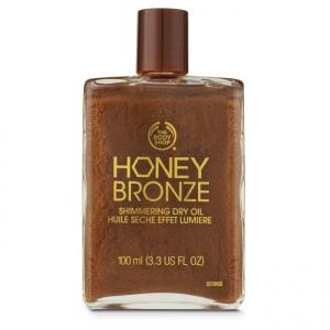 Honey Bronze™ blizgus sausasis kūno aliejus
