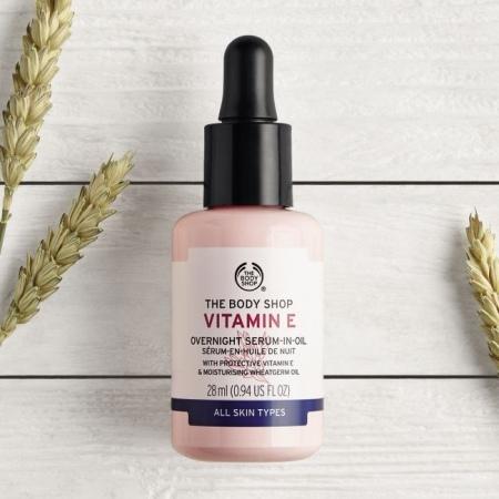 Vitamino E serumas-aliejus