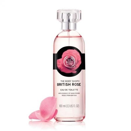 Britiškų rožių tualetinis vanduo