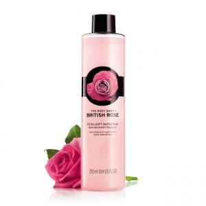Britiškų rožių vonios putos