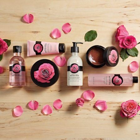 Пена для ванны Британская роза