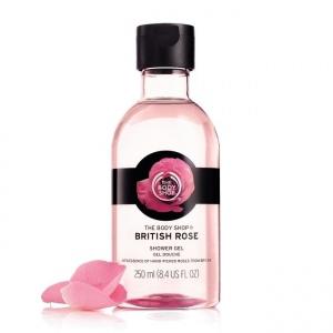 Britiškų rožių dušo želė