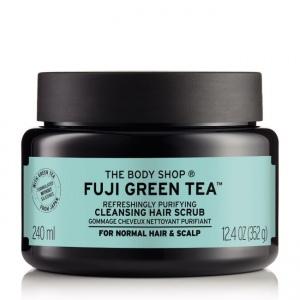 Fuji Green Tea™ valomasis plaukų ir galvos odos šampūnas - šveitiklis