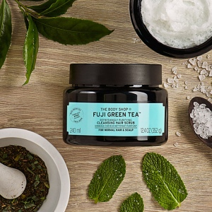 Скраб-шампунь для волос и кожи головы Fuji Green Tea™