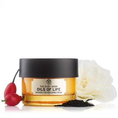 Oils Of Life™ stipriai atgaivinantis veido kremas