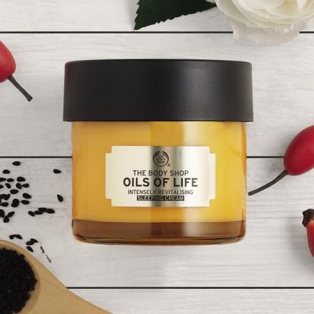 Oils Of Life™ stipriai atgaivinantis naktinis kremas
