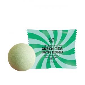 Žaliosios arbatos vonios kamuoliukas