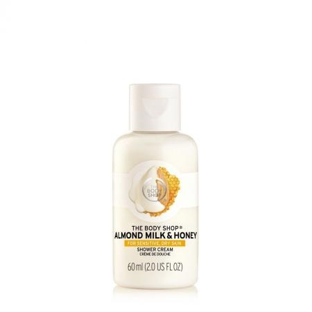 Смягчающий крем-гель для душа «Миндальное молочко и мед»