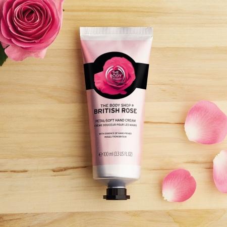 Britiškų rožių rankų kremas