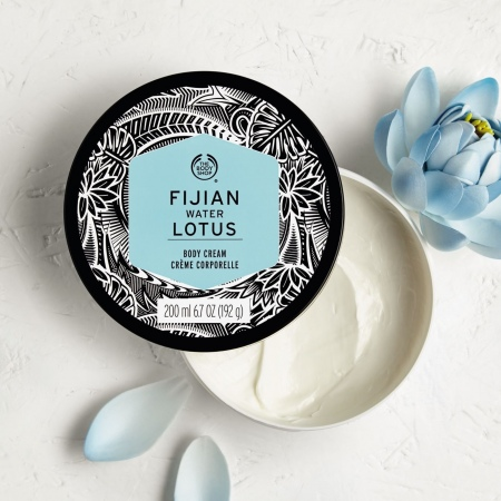 Масло для тела Fijian Water Lotus