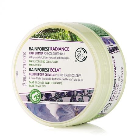 Масло для сияющего цвета волос Тропический Лес