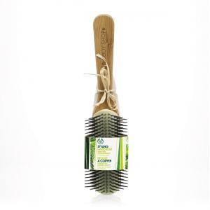 Bambukinis plaukų modeliavimo šepetys