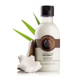 Kokosų kreminė dušo želė