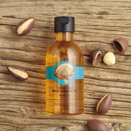 Laukinių arganų aliejaus dušo želė