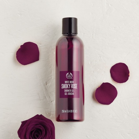 Гель для душа White Musk Smoky Rose