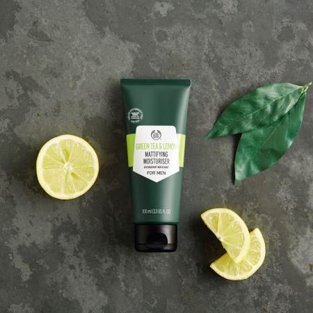 Матирующий дневной крем Зеленый чай и лимон