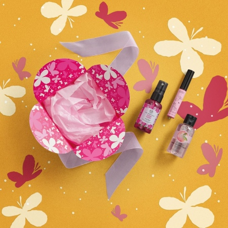 Подарочный набор «В розовом цвете»