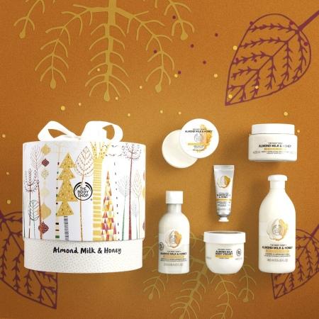 Королевский подарочный набор Миндальное молочко и мед
