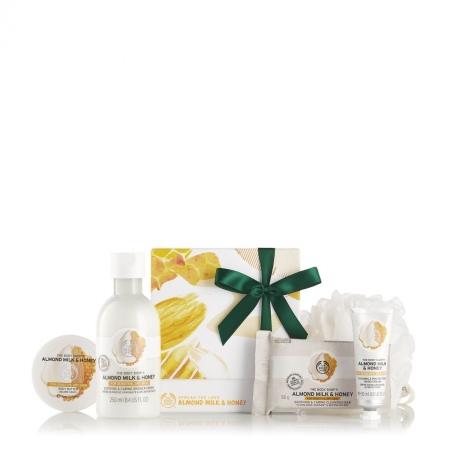Подарочный набор «Миндальное молочко и мед»