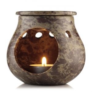 Kvapiųjų aliejų garintuvė iš muilo akmens