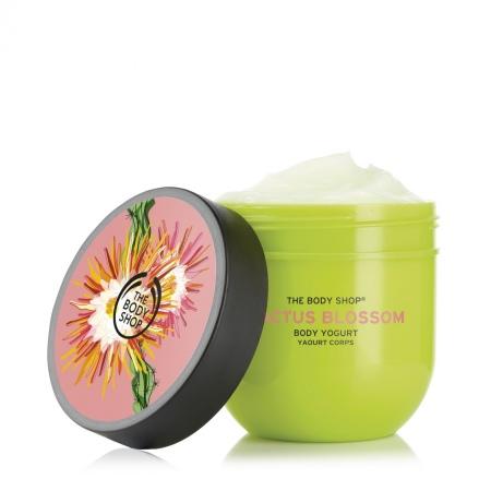 Крем-йогурт для тела «Цветок кактуса»