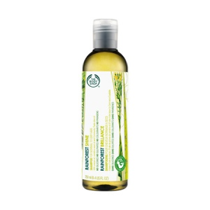 Rainforest blizgesio suteikiantis šampūnas