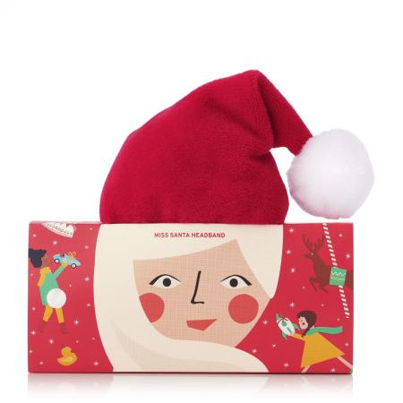 Повязка на голову «Миссис Санта»