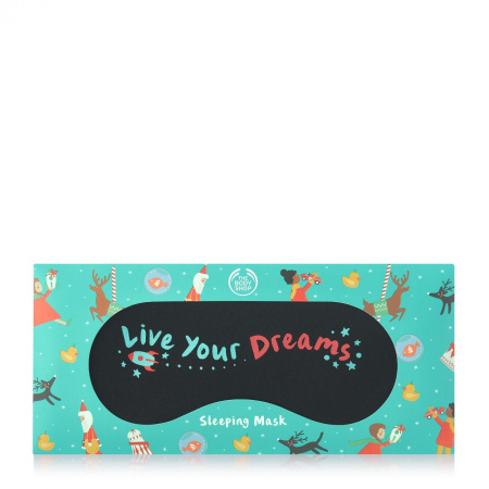 "Miego akiniai ""Live your dreams"""