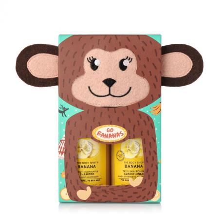 Bananinė dovana plaukų priežiūrai