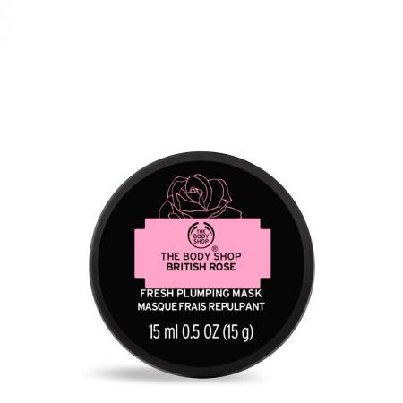 Britiškų rožių gaivinamoji ir odą stangrinanti kaukė
