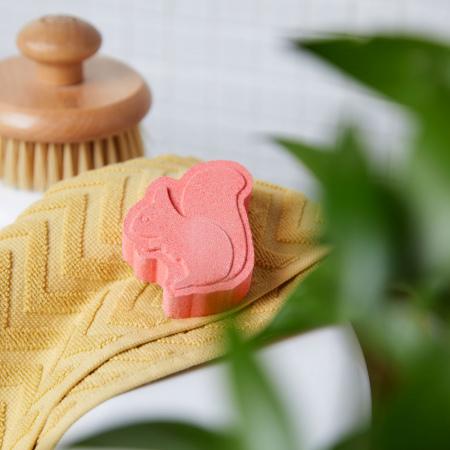 Бомбочка для ванны Клубника