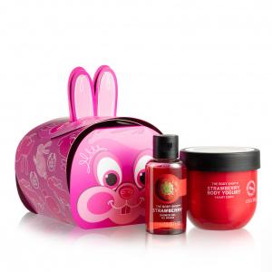 Подарочный набор в форме зайца «Клубника»