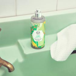 Žaliųjų citrinų ir mačia arbatos plaukų ir kūno dulksna