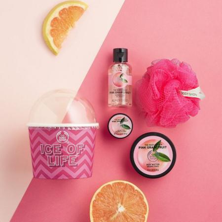 Маленький подарочный набор Розовый Грейпфрут