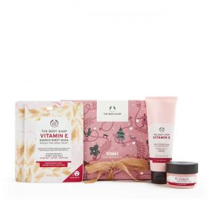 Vitamino E veido odą drėkinančių priemonių rinkinys