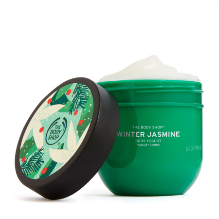 Крем-йогурт для тела «Зимний жасмин»