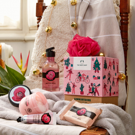Britiškų rožių dovanų rinkinys
