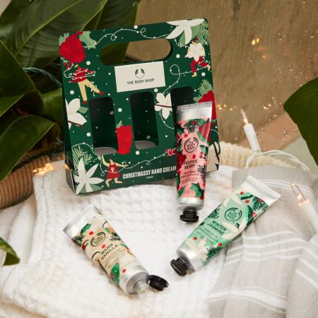 """Rankų kremų dovanų rinkinys """"Kalėdos"""""""