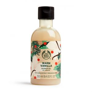 Šiltos vanilės dušo želė