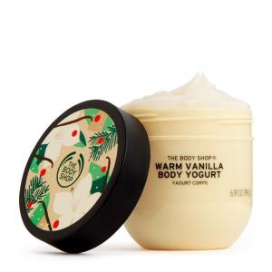 Šiltos vanilės kūno jogurtas