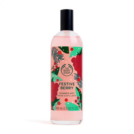 Мерцающий спрей для тела «Festive Berry»