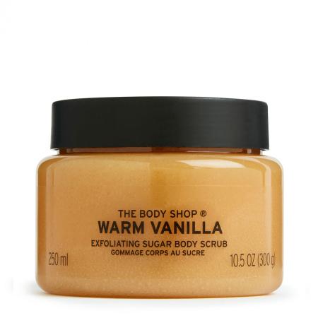 Šiltos vanilės kūno šveitiklis
