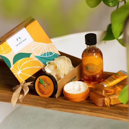 Likerinių mandarinų dovanų rinkinys