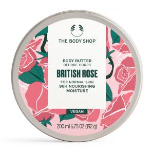 Britiškų rožių kūno sviestas