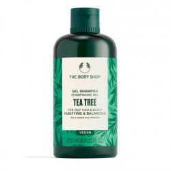 Valomasis ir balansuojamasis plaukų šampūnas su arbatmedžių aliejumi