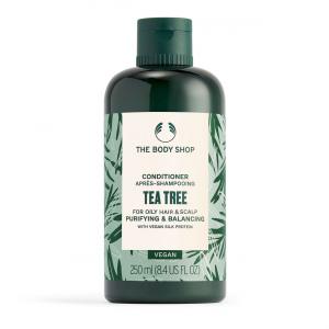 Valomasis ir balansuojamasis plaukų balzamas su arbatmedžių aliejumi
